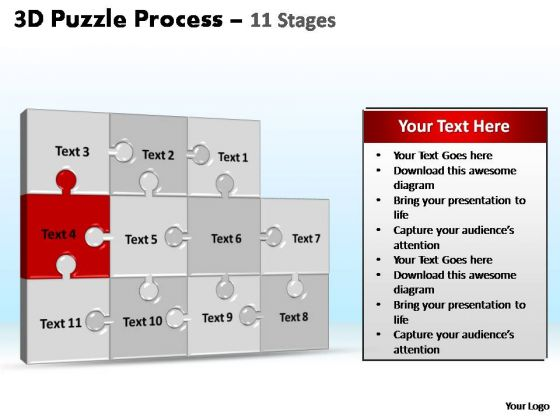 PowerPoint Presentation Designs Process Puzzle Process Ppt Slide Designs