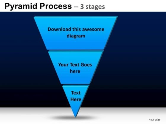 PowerPoint Presentation Designs Process Pyramid Process Ppt Slides