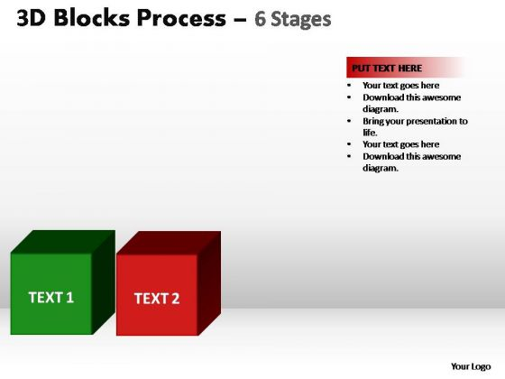 PowerPoint Presentation Designs Sales Blocks Process Ppt Slides