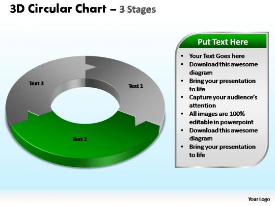PowerPoint Presentation Designs Sales Circular Chart Ppt Template