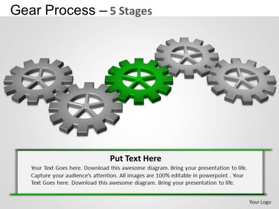 PowerPoint Presentation Designs Sales Gears Process Ppt Slides
