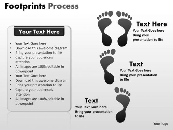 PowerPoint Presentation Designs Strategy Footprints Strategy