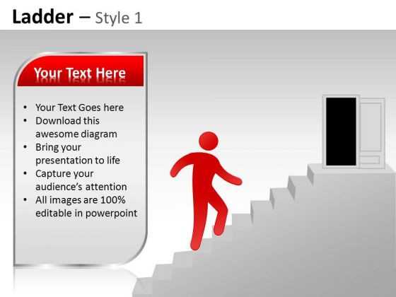 PowerPoint Presentation Designs Strategy Ladder Ppt Slide Designs