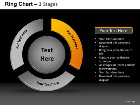 PowerPoint Presentation Designs Strategy Ring Chart Ppt Layout