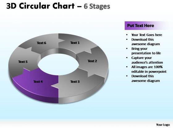 PowerPoint Presentation Diagram Circular Chart Ppt Template