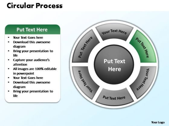 PowerPoint Presentation Diagram Circular Process Ppt Theme