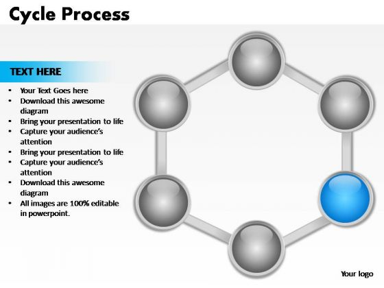 PowerPoint Presentation Download Cycle Process Ppt Themes
