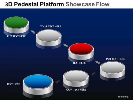 PowerPoint Presentation Download Pedestal Platform Showcase Ppt Designs
