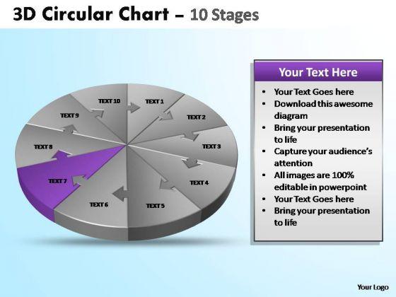 PowerPoint Presentation Editable Circular Ppt Template