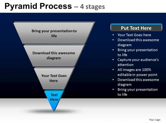 PowerPoint Presentation Editable Pyramid Process Ppt Layouts