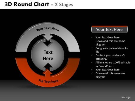 PowerPoint Presentation Editable Round Chart Ppt Presentation