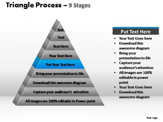 PowerPoint Presentation Editable Triangle Process Ppt Backgrounds