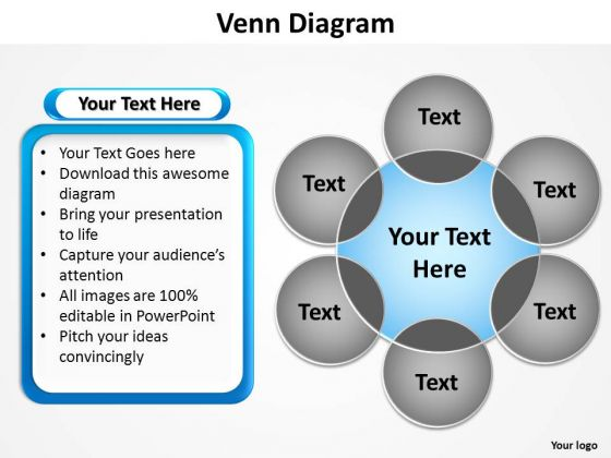 Powerpoint Presentation Editable Venn Diagram Ppt Presentation