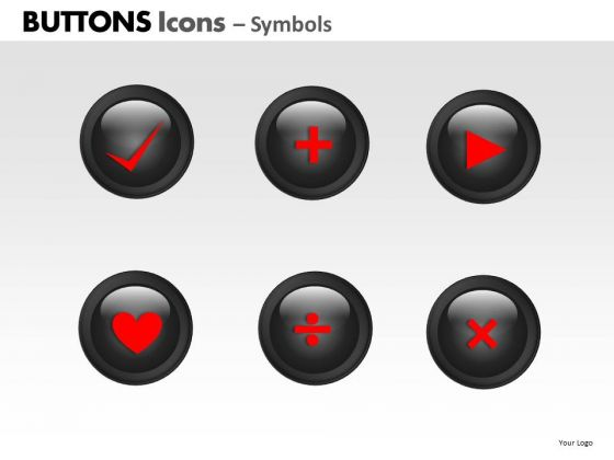 PowerPoint Presentation Education Buttons Icons Ppt Presentation