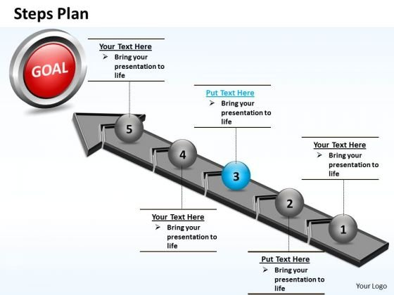 PowerPoint Presentation Education Steps Plan 5 Stages Style 4 Ppt Theme
