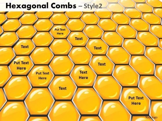 PowerPoint Presentation Executive Success Hexagonal Combs Ppt Theme