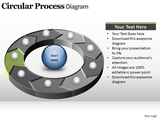 PowerPoint Presentation Global Circular Process Ppt Theme