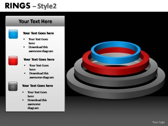 PowerPoint Presentation Global Ring Chart Ppt Templates
