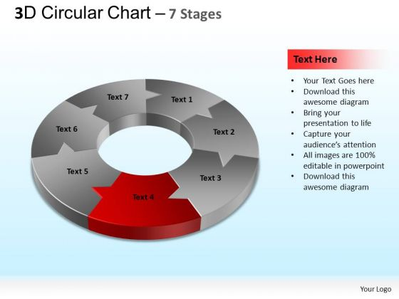 PowerPoint Presentation Graphic Circular Chart Ppt Slides