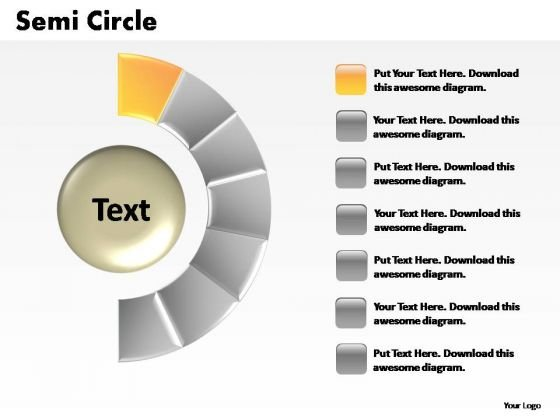 PowerPoint Presentation Graphic Semi Circle Ppt Design