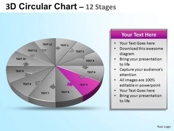 PowerPoint Presentation Growth Circular Ppt Templates