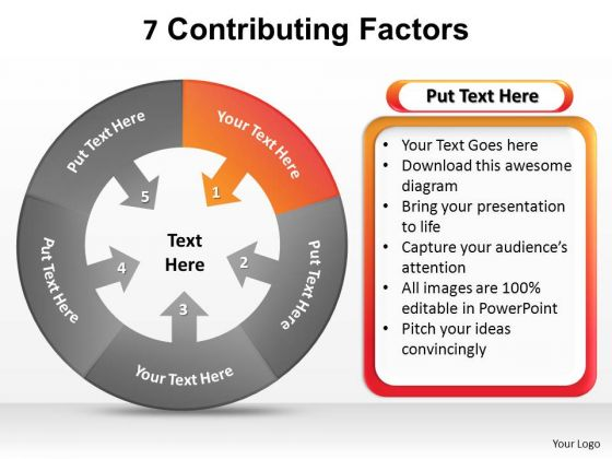 PowerPoint Presentation Growth Contributing Factors Ppt Template