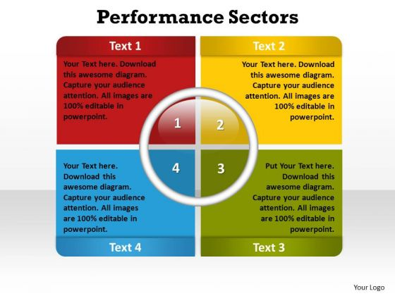 PowerPoint Presentation Growth Performance Sectors Ppt Backgrounds
