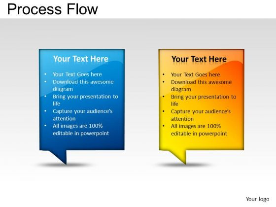 PowerPoint Presentation Growth Process Flow Ppt Slides