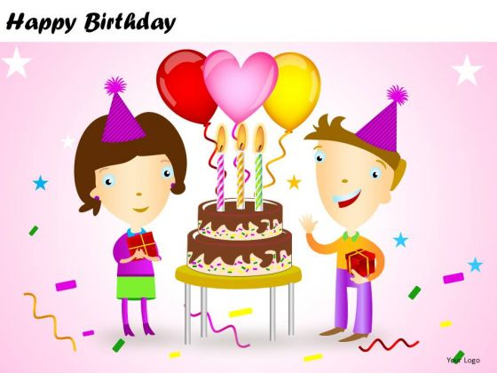 PowerPoint Presentation Happy Birthday Diagram Ppt Design