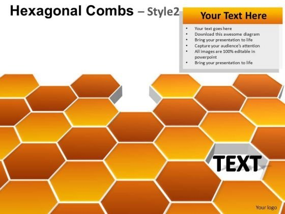 PowerPoint Presentation Hexagonal Combs Download Ppt Backgrounds