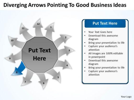 PowerPoint Presentation Ideas Ppt Relative Circular Flow Arrow Diagram Templates