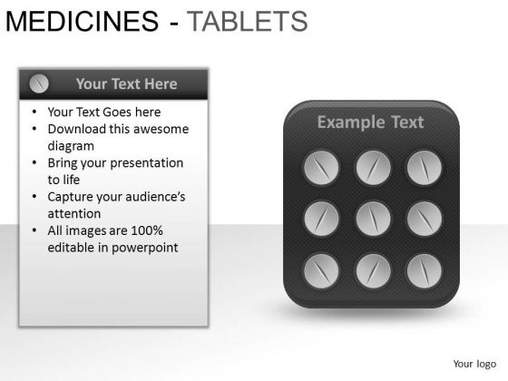 PowerPoint Presentation Image Medicine Tablets Ppt Process