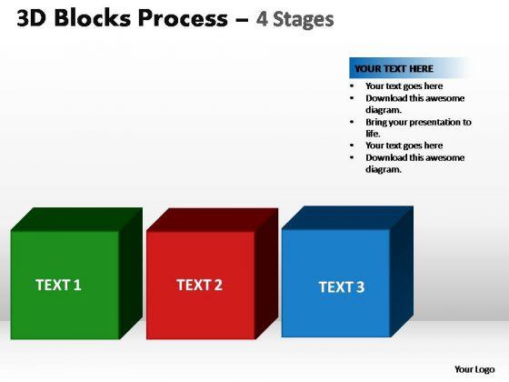 PowerPoint Presentation Leadership Blocks Process Ppt Template