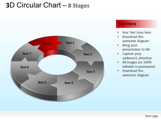 PowerPoint Presentation Leadership Circular Chart Ppt Template