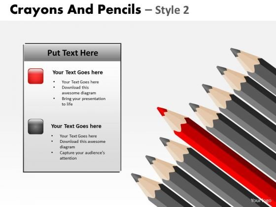 Blackboards powerpoint templates backgrounds presentation slides powerpoint presentation leadership crayons and pencils ppt template toneelgroepblik Images