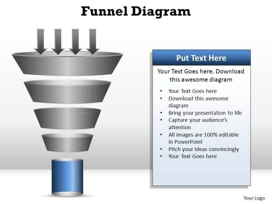 PowerPoint Presentation Leadership Funnel Diagram Ppt Theme