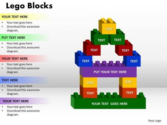 PowerPoint Presentation Lego Blocks Success Ppt Slide Designs