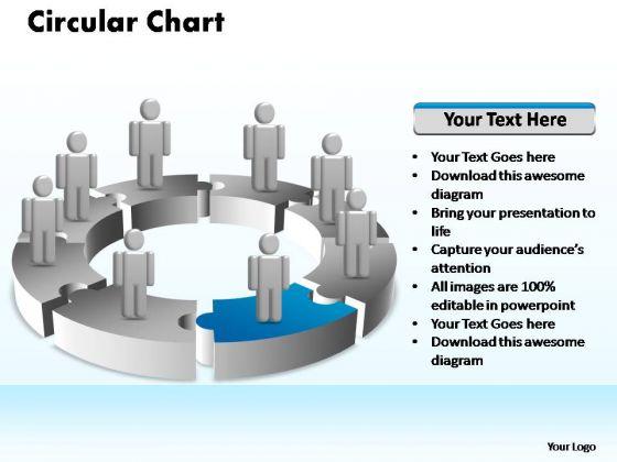 PowerPoint Presentation Marketing Circular Ppt Slides