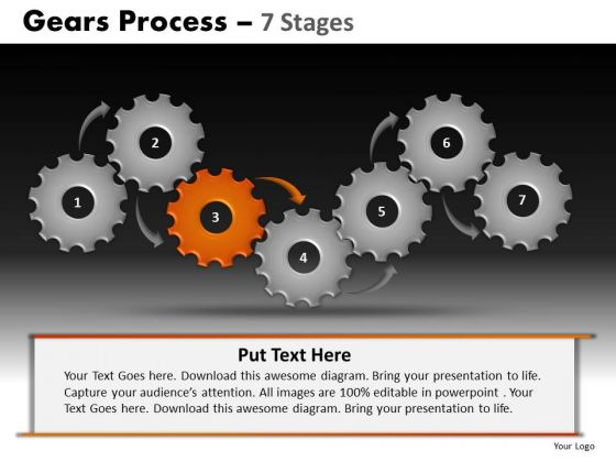PowerPoint Presentation Marketing Gears Process Ppt Slide Designs