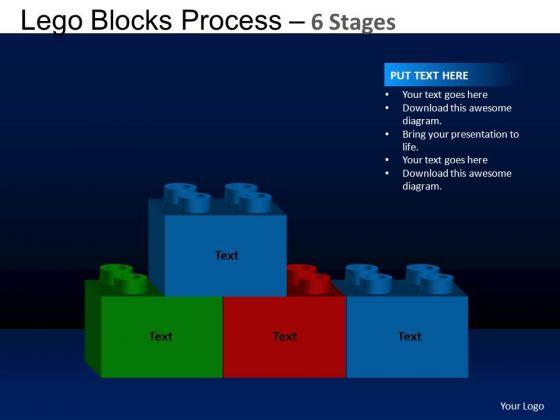 PowerPoint Presentation Marketing Lego Blocks Ppt Slide