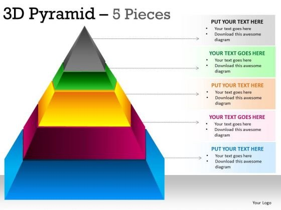 Powerpoint Presentation Marketing Pyramid Ppt Themes  Powerpoint