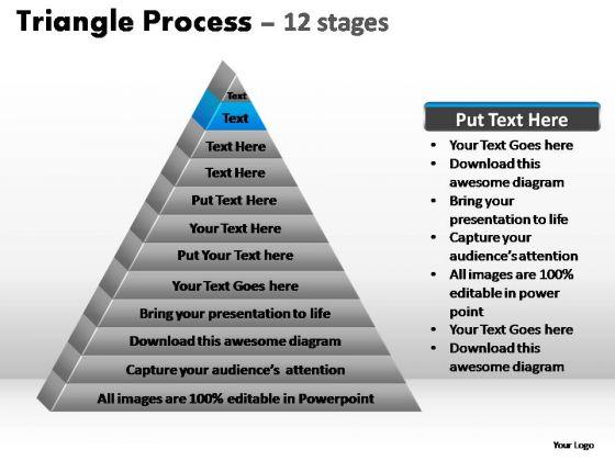 PowerPoint Presentation Marketing Triangle Process Ppt Slide Designs