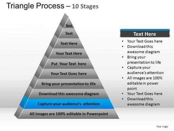 PowerPoint Presentation Marketing Triangle Process Ppt Templates