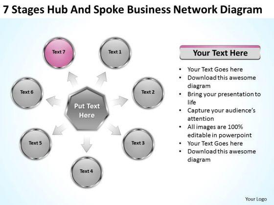 PowerPoint Presentation Network Diagram Ppt 8 Free Business Plans Templates