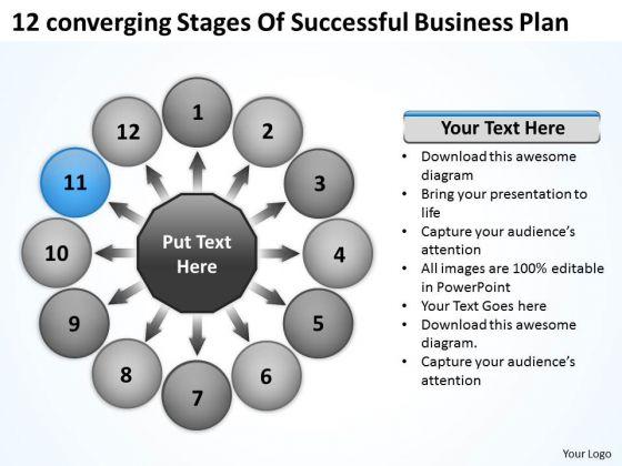 PowerPoint Presentation Plan Ppt Relative Circular Flow Arrow Process Templates