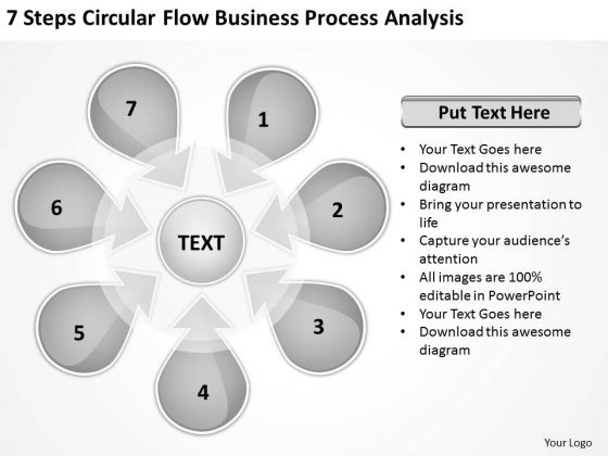 PowerPoint Presentation Process Analysis Ppt 1 Sales Business Plan Template Templates