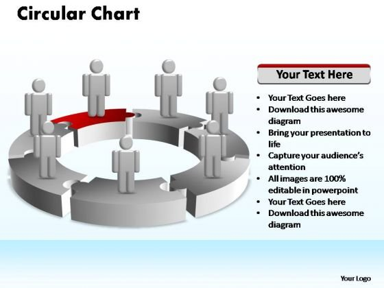 PowerPoint Presentation Process Circular Ppt Templates