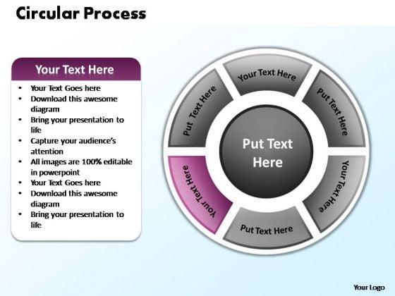 PowerPoint Presentation Process Circular Process Ppt Design Slides