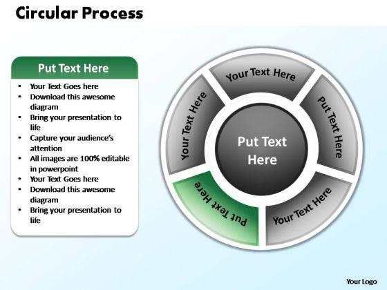 PowerPoint Presentation Process Circular Process Ppt Template