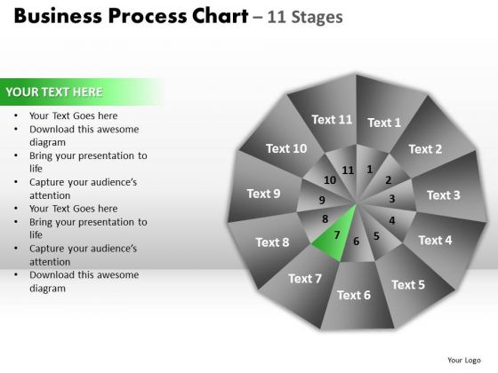 PowerPoint Presentation Process Circular Quadrant Ppt Design